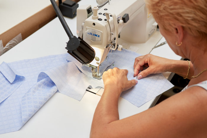 Von Amper, Herstellung unserer Maßhemden