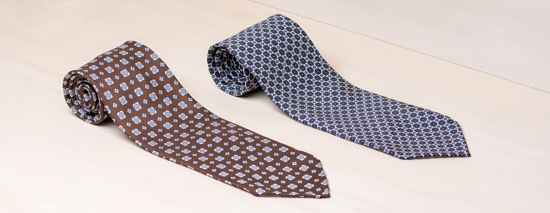Handgefertigte Krawatten