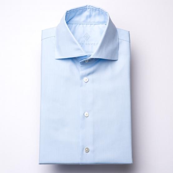 Hemd - Oxford - hellblau - einfarbig