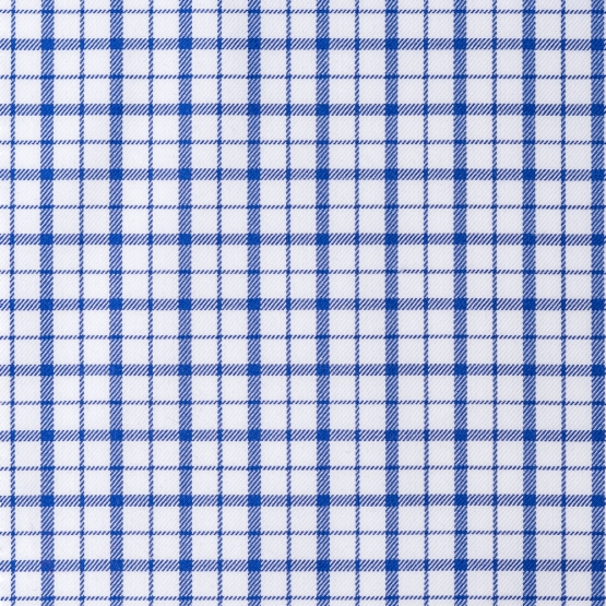 Shirt - Twill - blue - checked