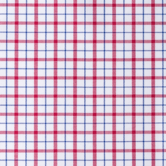 Hemd - Twill - rot/blau - kariert