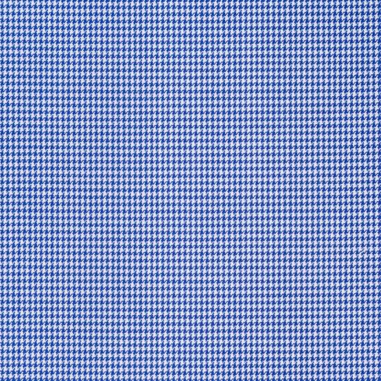 Hemd - Twill - dunkelblau - hahnentritt
