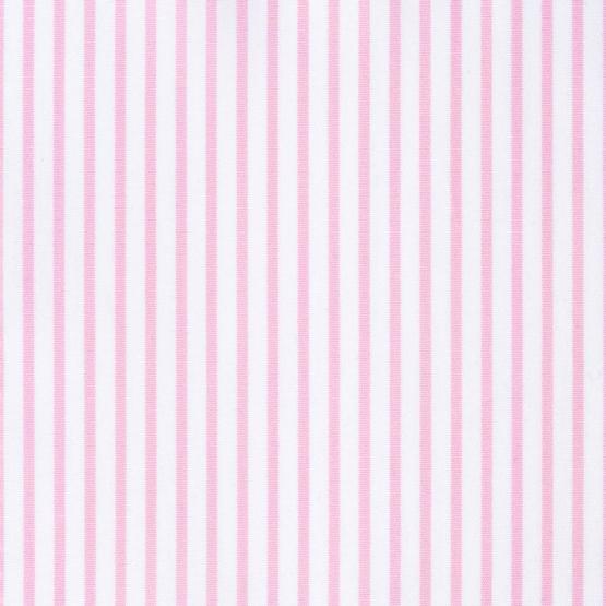 Hemd - Poplin - rosa - gestreift