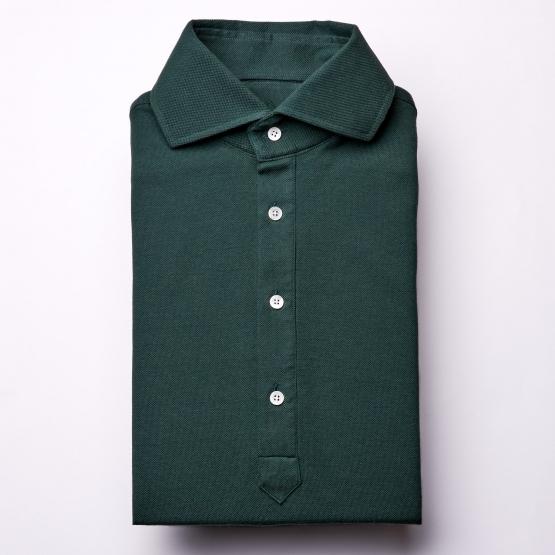 Polohemd - dunkelgrün