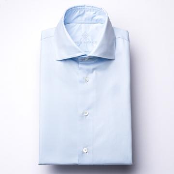 Shirt - Twill - light blue - plain