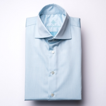 Shirt - Twill - light green - plain