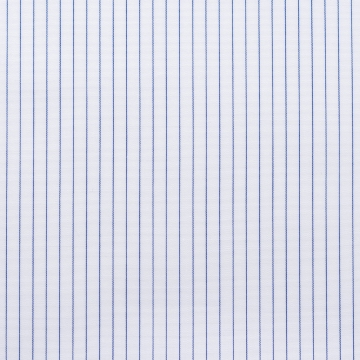 Shirt - Poplin - dark blue/white - pinstriped