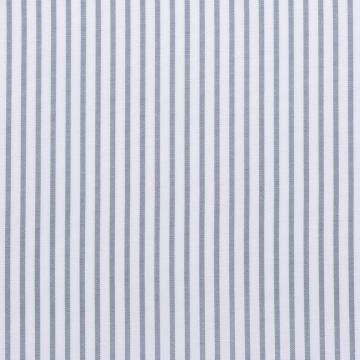 Hemd - Poplin - grau/weiß - gestreift