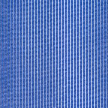 Hemd - Poplin - dunkelblau - nadelstreifen