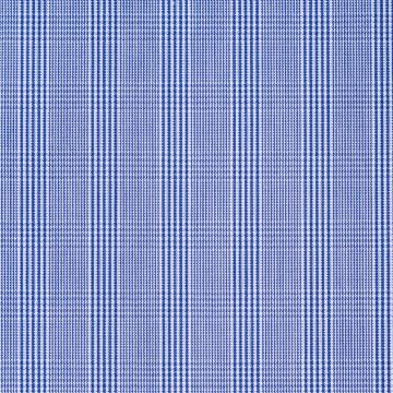 Hemd - Poplin - dunkelblau - glencheck