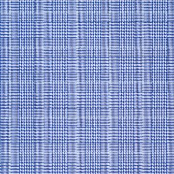 Hemd - Twill - blau/hellblau - glencheck
