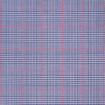 Hemd - Twill - dunkelblau/rot - glencheck