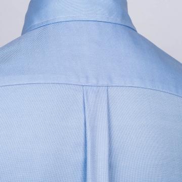 Oxford Hemd - OCBD - hellblau - einfarbig