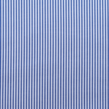 Hemd - Twill - blau/weiß - gestreift