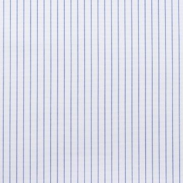 Hemd - Poplin - dunkelblau/weiß - nadelstreifen