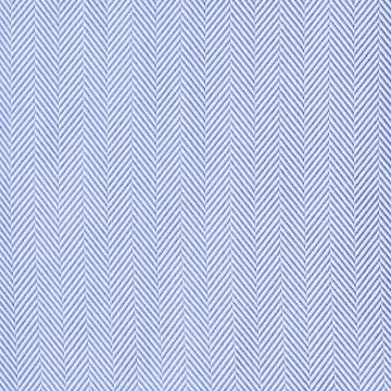 Hemd - Twill - blau - einfarbig - fischgrät