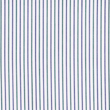 Hemd - Twill - grün/blau - gestreift