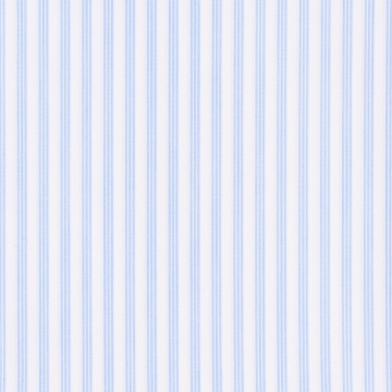 Hemd - weiß/hellblau - gestreift