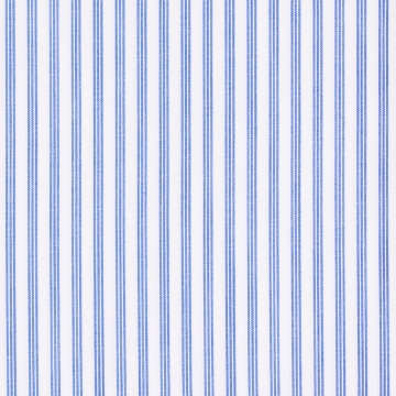 Hemd - weiß/blau - gestreift