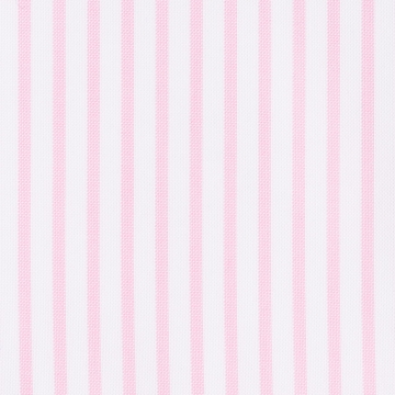 Hemd - Oxford - weiß/rosa - gestreift