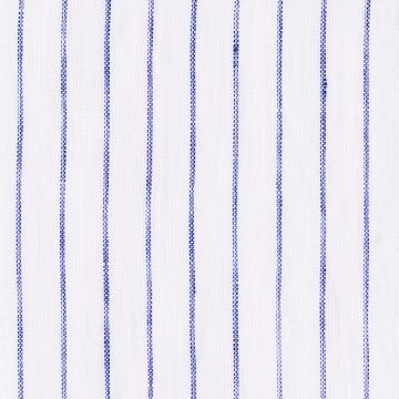 Hemd - Leinen - weiß/blau - gestreift