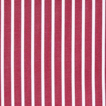 Hemd - Poplin - weiß/rot - gestreift