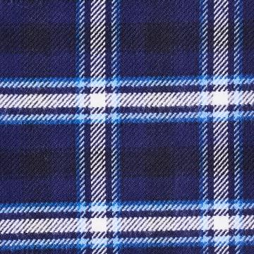 Hemd - Flanell - blau - kariert