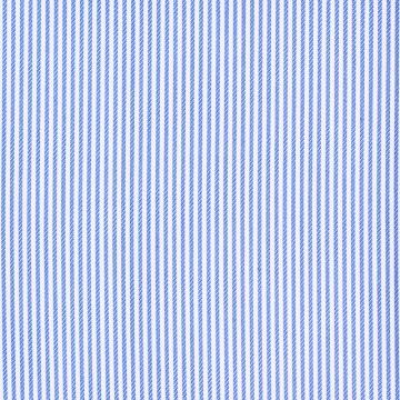 Hemd - Twill - weiß/blau - gestreift