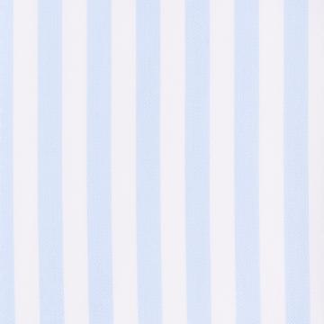 Hemd - Twill - weiß/hellblau - gestreift