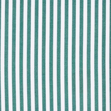 Hemd - Twill - weiß/grün - gestreift