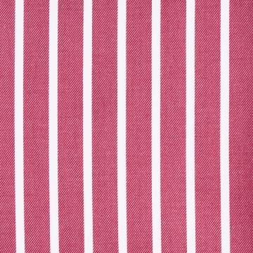 Hemd - Twill - weiß/rot - gestreift