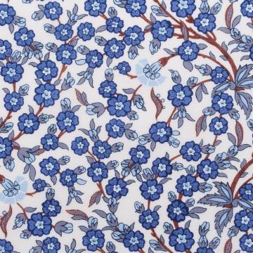 Hemd - Zephir - Blumenmuster