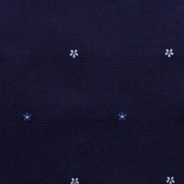 Hemd - Jeans - blau - Blumenmuster
