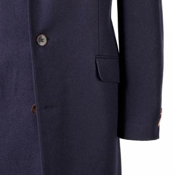 Mantel Sylvester - Blau - Loden