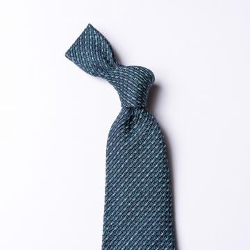 Gewebte grün-blaue Krawatte