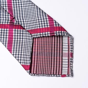 Glen Check Krawatte aus reiner Seide