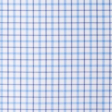 Hemd - Twill - hellblau/dunkelblau - kariert